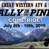 Rally In The Pines- July 8-10- Mackay, ID